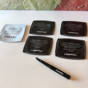 Chanel Travel Lip Brush & Samples